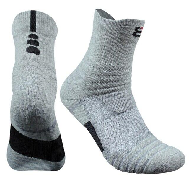 1 Pair Men\'s Cotton Outdoor Sports Socks 10