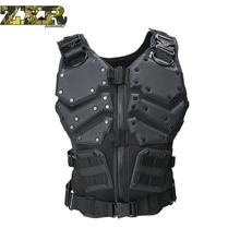 Unloading Airsoft Tactical Military Molle Combat Assault Plate Carrier Vest Body Armor Cs army Outdoor Hike
