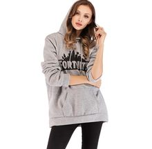 S-5XL Printed loose hooded sweater winter custom christmas cropped Maternity wear hoodie thick for girl Pregnant woman(China)