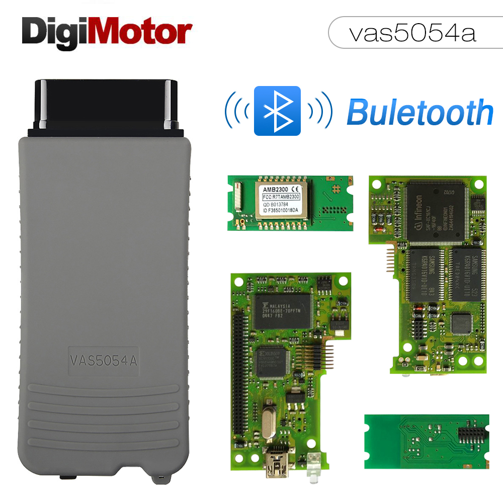 VAS5054 ODIS V4.3.3 Oki VAS 5054A Full Chip OBD2 Diagnostic Tool For VW/AUDI/SKODA/SEAT VAS 5054A VAS5054A VAS 5054A Scanner