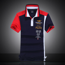2016 Brand clothing high quality summer style aeronautica militare men polo shirt Air Force One camisa polo shirt Embroidery