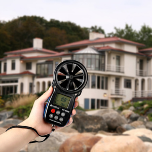 Image 5 - HoldPeak HP 866B Mini LCD Digital Anemometer thermometer anemometro Wind Speed Air Velocity Temperature Measuring with Backlight