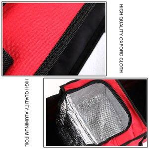 Image 5 - Oxford kumaş araba gövde bitirme paketi dayanıklı, çok amaçlı katlanabilir 3 ızgara araba saklama kutusu soğutucu kutu, 60x32x29cm