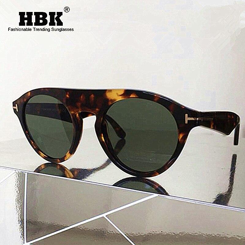 HBK-lunettes de soleil rondes Steampunk pour hommes et femmes, de styliste de marque, unisexe, transparentes, pour l'extérieur, UV400, nouvelle mode 2019