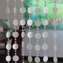 10 м натуральный корпус занавес стеклянный шарик занавеска интерьерные украшения для дома комнаты висячие украшения