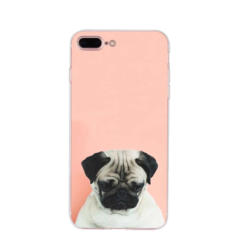 Maiyaca animal bonito pug cão moda de luxo caso telefone para apple iphone 11 pro 8 7 66 s plus x 5S se xr xs max capa