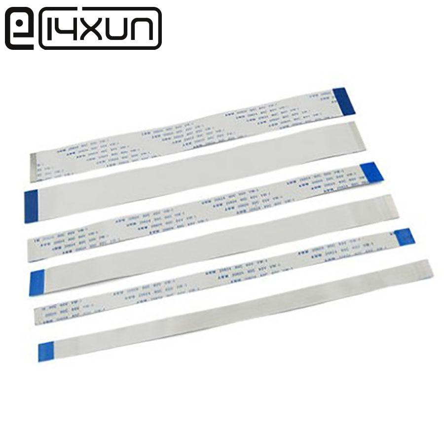 5pcs FFC/FPC Flat Flex Cable 10Pin 20Pin 30Pin 40Pin 50Pin 60Pin Type A/B 0.5mm Pitch AWM VW-1 20624 80C 60V Length 8cm/80mm