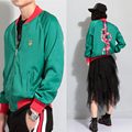New autumn outfit Thin section coat jacket CLOT Han Plate flight jacket