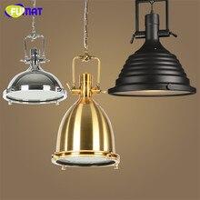 Lámpara loft retro industrial metales hardware lámpara colgante 3 estilos vintage e27 lámparas led luces de barra de la cocina café