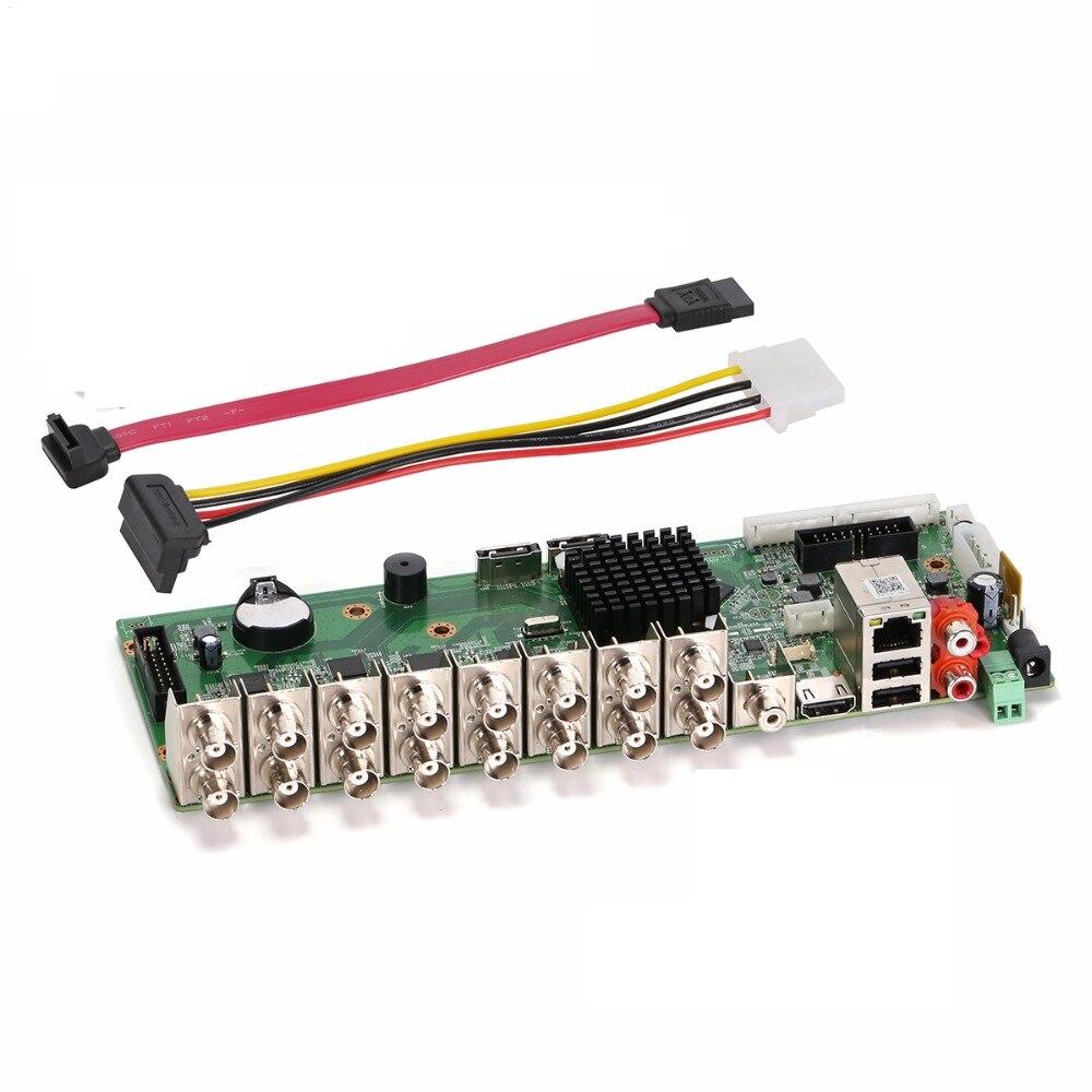 4MP CCTV Camera 4M-N Video Reccorder Board 16CH/8CH/4CH XMeye APP Coaxial 6 In 1 Hybrid Coaxial AHD TVI CVI DVR NVR Motherboard
