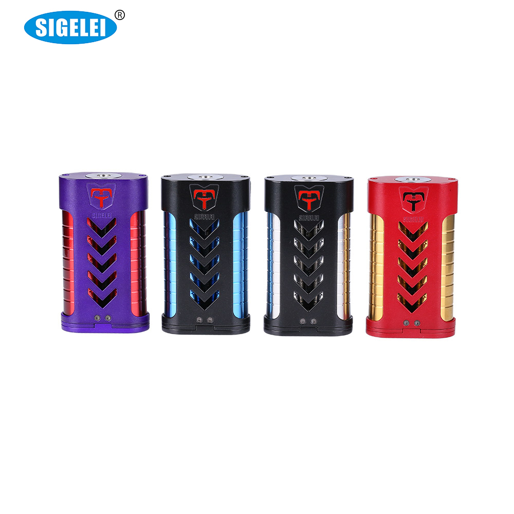 Clearance Original 220W Sigelei MT Mod E Cigarette Box Mod Compatible with Revolvr Tank for