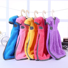 ФОТО new cleaning wipe towel cloth camisole uptake naizang clothes exceed water small coat pattern hanger hanging