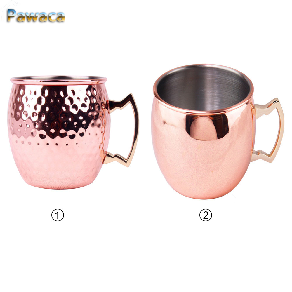 550ml Hammered Copper Plated Moscow Mule Mug Beer Cup Coffee Cup Mug Stainless Steel Copper Plated Water Glass Drinkware xiaomi mi 8 aliexpress