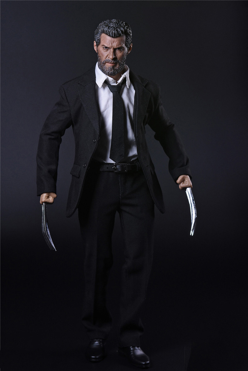 Wolverine Logan Full Set  Action Figure 1/6 Scale  Clothes &Head & Body With Wolf Claws Full Set Figures Collections Gifts Toys 1 6 scale resident evil 6 leon scott kennedy full set action figure for collections