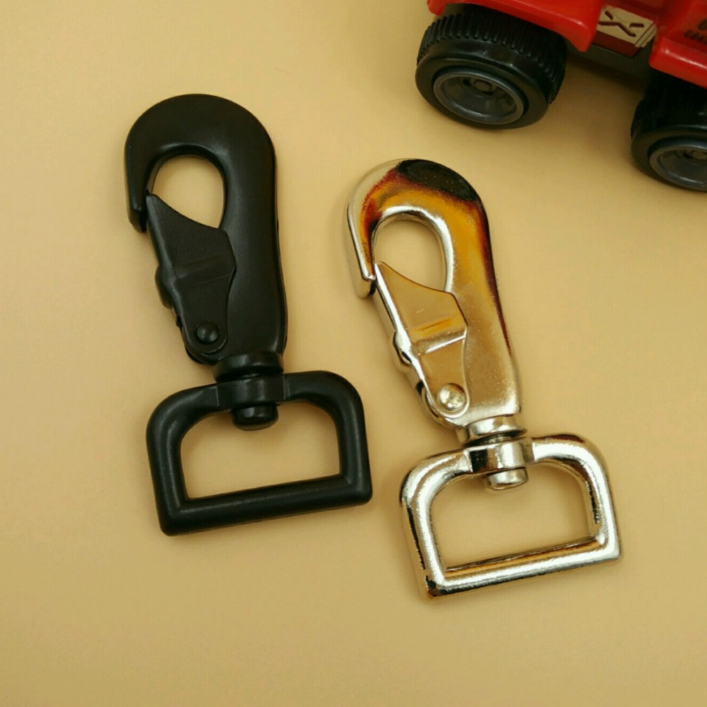 25mm 5x 1 Black Or Silver Hk Snap Hooks Pet Supplies Leashes