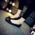 Hot Sale Rhombus Plaid Women Flat Shoes Elegant Bow-Knot Girls Fashion Flats European American Woman Casual Round Toe Shoes C009