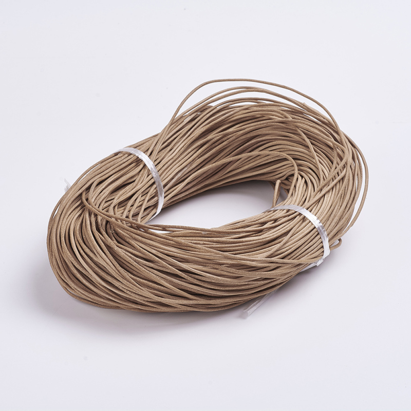Cowhide Leather Cord Leather Jewelry Cord for Jewelry Making DIY Bracelet Necklace 100m/bundle 1mm 1.5mm 2mm Peru ColorCowhide Leather Cord Leather Jewelry Cord for Jewelry Making DIY Bracelet Necklace 100m/bundle 1mm 1.5mm 2mm Peru Color