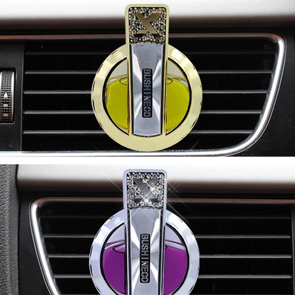 2017 Mini Car Perfume Clips Seat Liquid Air Freshener For Car Interior Accessories Decoration Car Air Freshener Perfume Clip
