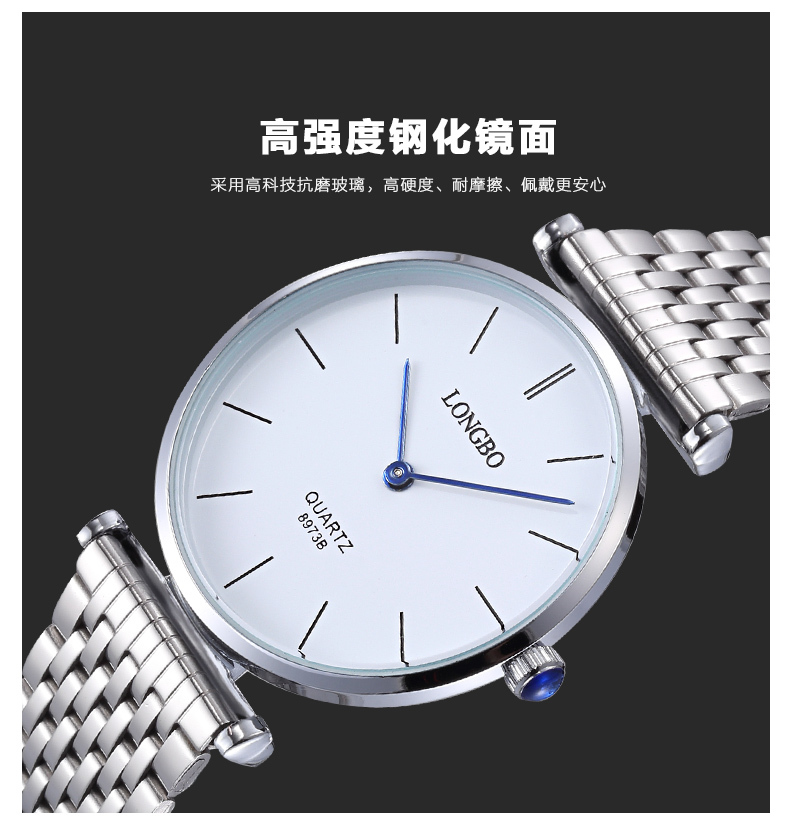 Hot Watches Women Top Brand Luxury Wristwatches Women Full Stainless Steel Casual Watch Relogio Masculino Fashion