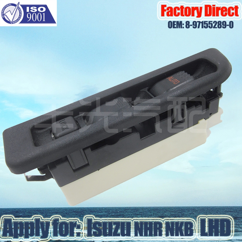 Factory Direct Front Left Master Auto Power Window Control Switch Apply For ISUZU NPR NKR LHD 8973641130 897315184 897222