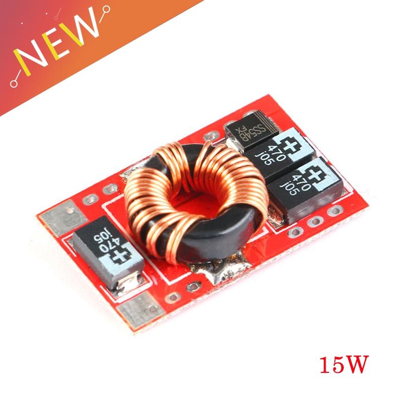 DC-DC Boost convertisseur 3 V 3.7 V 4.2 V augmenter 5 V 3A 15 W batterie au Lithium Mobile alimentation chargeur Module carte indicateur LED