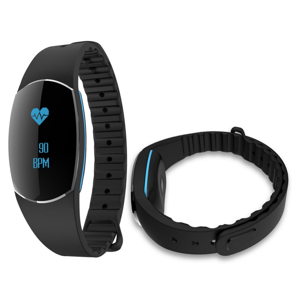 SH09U Smart Bracelet Wristband Pedometer Heart Rate Blood Pressure Sleep Monitor Waterproof Sports Tracker Watch For
