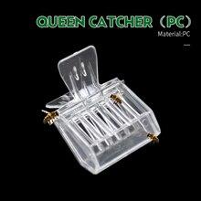 2 uds Bee Queen Catcher incoloro plástico transparente Clip Cage equipo de apicultura herramienta apicultor equipo sala de aislamiento