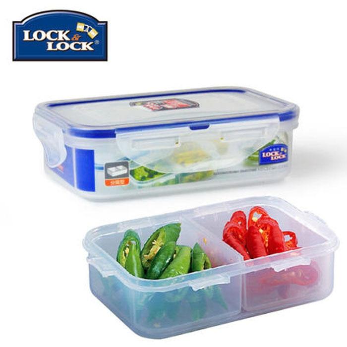 Genuine Lock & Lock ordinary plastic lunch box lunch box ...