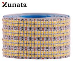 5m 2835 LED Strip Light Warm White / Cold White 240LEDs/m 480LEDs/m Flexible Tape Ribbon Led Light Strip Lighting DC 12V / 24V