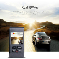 A119 Car Video Recorder Camera PRO Version 1440P 2k 30fps 7G Lens And F1.8 Aperture Car DVR Without GPS F1.6 Dashcam