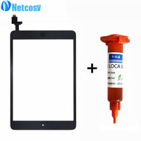 For Ipad Mini 1 2 Touch Glass Screen Digitizer Home Button Assembly Replecement For Ipad Mini