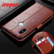 Flip Case For Xiaomi Redmi Note 6 Pro Leather Xiomi Mi 8 A2 Lite Max 3 Wallet Cover for Xiaomi Redmi Note 5 Plus 4 5A 6A S2 Case