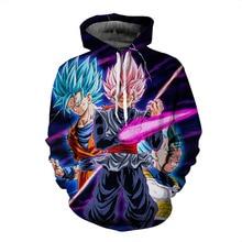 2018 Dragon Ball Super 3-D Sweaters