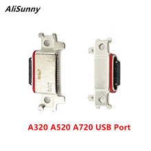 AliSunny 5pcs USB DOCK Connector สำหรับ Samsung Galaxy A320 A520 A720 2017 ชาร์จพอร์ต Micro ซ็อกเก็ต A3 A5 a7 อะไหล่