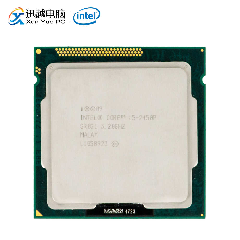 Intel Core i5-2450P Desktop Processor i5 2450P Quad-Core 3.2GHz 6MB L3 Cache LGA 1155 Server Used CPU