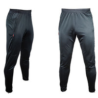 Futbol Eğitimi Pantolon Erkek Joggers Ince Sıska Koşu Koşu Tayt Pantolon Eşofman Altları survetement futbol 2017