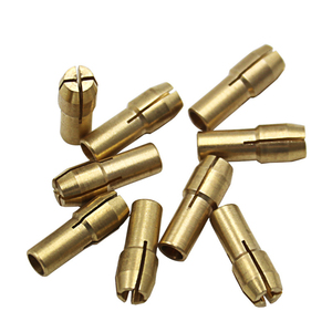 Hot 11PCS/Set Brass Drill Chucks Collet Bits 0.5-3.2mm 4.3mm Shank Screw Nut Replacement for Dremel Rotary Tool