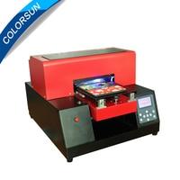 6 color PVC TPU Acrylic Wooden Metal A4 size Automatic UV printer phone case Printer LED UV Flatbed Printing Machine