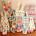 7 Design Lovely Creative Japan CRAFTHOLIC Colourful Stuffed Rabbit Plush Animal  Toy Doll