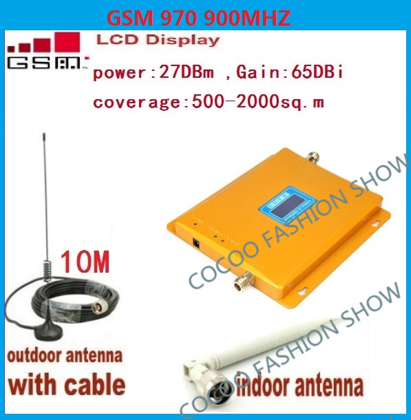 LCD Display GSM 900Mhz Mobile Phone Signal Booster , GSM Cellular Signal Repeater , GSM Cell Phone Signal Amplifier + AntennaLCD Display GSM 900Mhz Mobile Phone Signal Booster , GSM Cellular Signal Repeater , GSM Cell Phone Signal Amplifier + Antenna