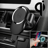 HAWEEL Car Phone Wireless Charger Gravity Sensing Car Mount Qi Standard Wireless Charger Suitable for 4.0 6.0 inch Smartphones