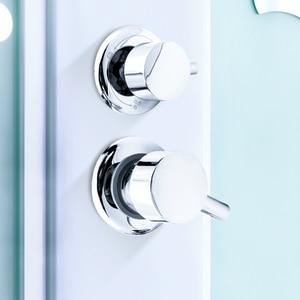 Image 5 - 2/3/4/5 Ways Water Outlet Screw Thread Center Distance 10cm 12.5cm Mixing Valve Brass Bathroom Shower Mixer Faucet Tap Cabin