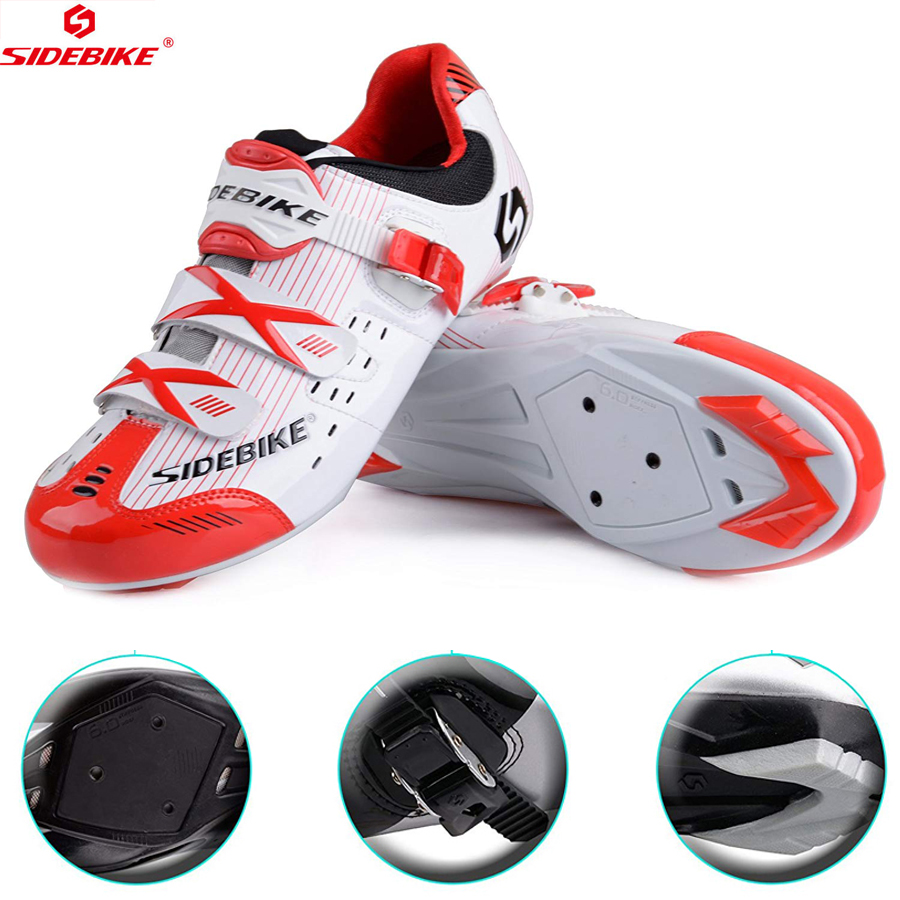 SIDEBIKE NEW MTB Cycling Shoes Mountain Bike Shoes mtb Cycling sneaker Athletic Breathable Racing Sneaker Men