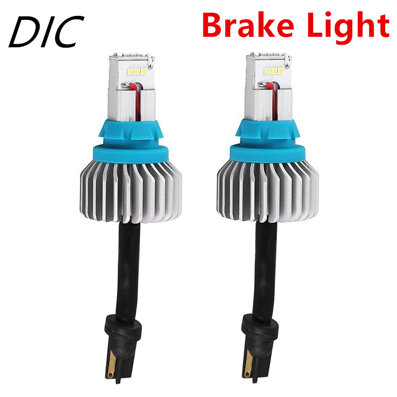 DIC T15 T16 90W Brake Stop Lights CSP 9-SMD 1320LM Car LED Backup Lamp Canbus Error Free 912 921 12V LED headlight Lamp 6500K 2pcs lot t15 w16w 921 912 2835 21smd led canbus error free tail lights bulbs car reverse light backup light white 12v 24v