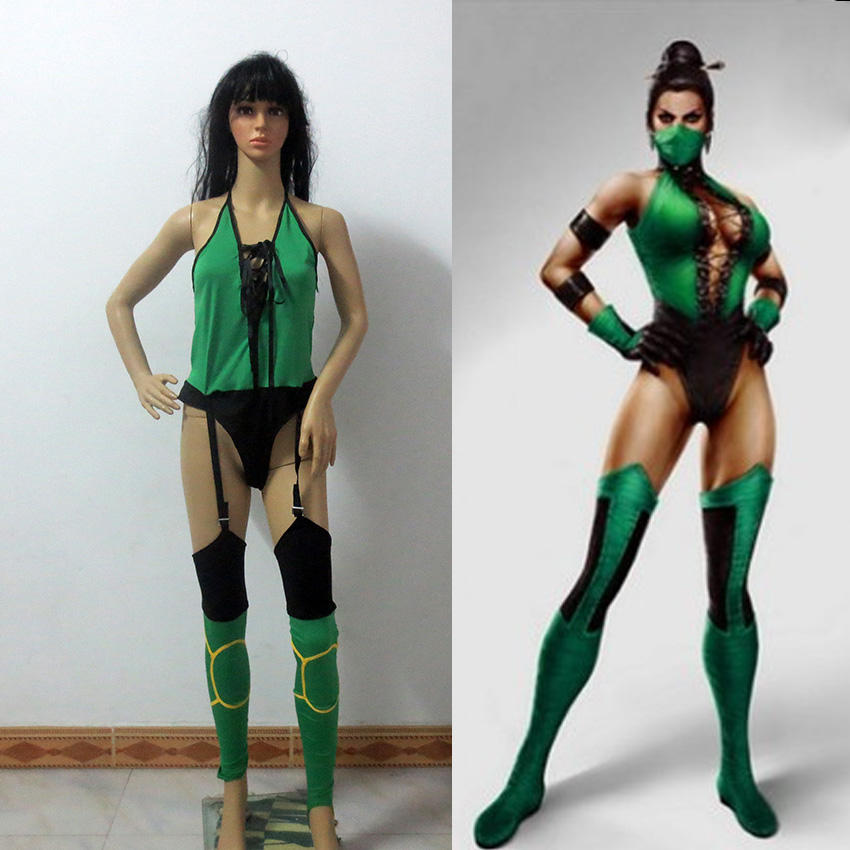 Mortal Kombat Jade Cosplay Costume Christmas And Halloween Costume