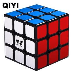 QIYI бренд Sail 0932A-5 магические кубики Professional 3x3x3 5,6 см наклейка Скорость поворот головоломки игрушки для детей подарок Cubo Magico QY306