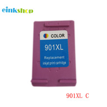 Compatible Ink Cartridge for HP 901 901XL Color Ink Cartridge For HP J4580 J4500 J4524 J4530 J4540 J4550 J4580 J4624 J4640 J4680 картридж hp cc654ae 901xl black для j4580 4660