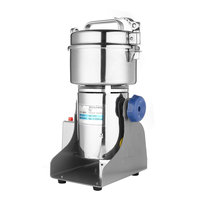 500W 800g Electric Herb Grain Grinder Cereal Mill Flour Coffee Wheat Cereal Grinding Pulverizer Food Machine Grinder Tool