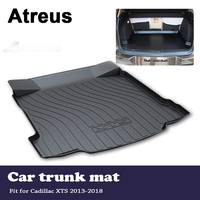 Atreus Anti slip Waterproof Car Trunk Mat Tray Cargo Floor Liner Carpet Pad For Cadillac XTS 2013 2014 2015 2016 2017 2018
