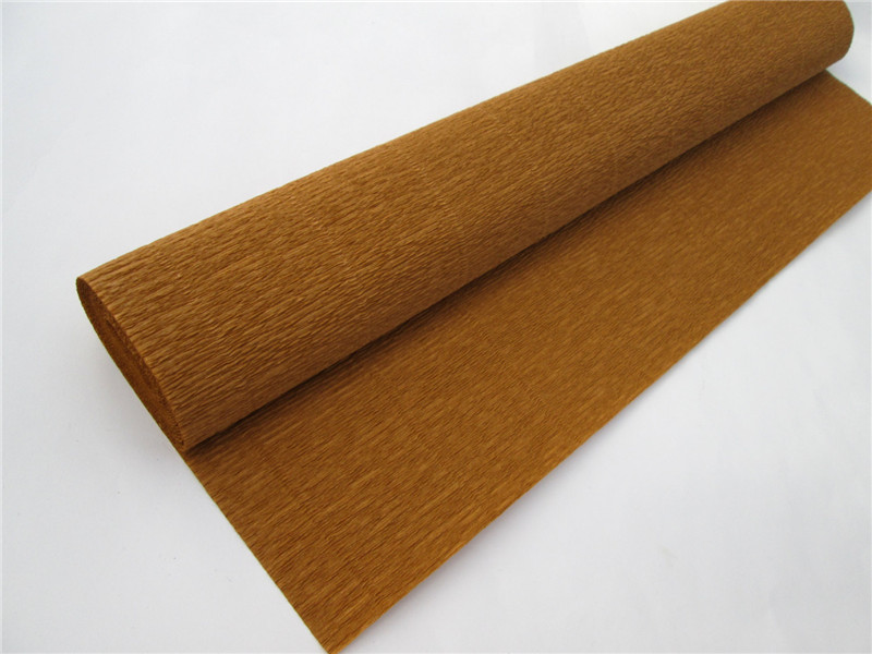 3rolls/lot 50cm*2.5m Creative Brown Corrugated Roll Paper for Handicrafts Gift Wrapping Wedding Decorations